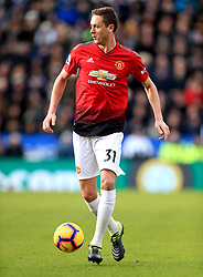 Manchester United's Nemanja Matic during the Premier League match at the King Power Stadium, Leicester.