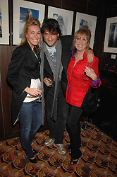 Left to right, OLIVIA BUCKINGHAM, LORD JOHNSTON SOMERSET and PATTI BOYD at an exhibition of photographs by Olivia Buckingham held at China Tang, The Dorchester, Park Lane London on 5th March 2007.<br />