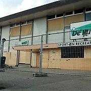 Sportcentrum de Bun, ingeslagen ruiten