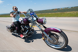 Bean're on the Cycle Source Ride during the 78th annual Sturgis Motorcycle Rally. Sturgis, SD. USA. Wednesday August 8, 2018. Photography ©2018 Michael Lichter.