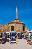France, Vendée (85), Saint-Jean-de-Monts, centre ville // France, Vendée, Saint-Jean-de-Monts