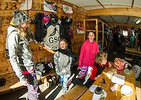 Gunstock Ski Club's U8's and U10's race day..Karen Bobotas photographer
