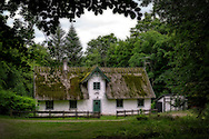 An old house from 1767 in a forest in the south-east of Sweden.