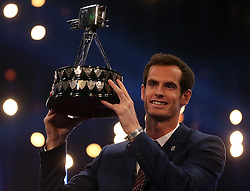 Embargoed to 0001 Monday October 31 File photo dated 20/12/15 of Andy Murray during Sports Personality of the Year 2015, as the television programme is the second oldest to still be on air.