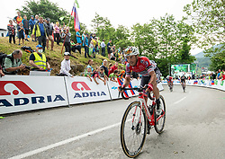 Luca CHIRICO of ANDRONI GIOCATTOLI during 2nd Stage of 27th Tour of Slovenia 2021 cycling race between Zalec and Celje (147 km), on June 10, 2021 in Slovenia. Photo by Vid Ponikvar / Sportida
