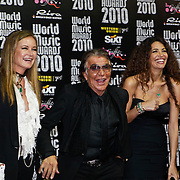 MON/Monte Carlo/20100512 - World Music Awards 2010, Roberto Cavalli, partner Eva Cavalli en Afef Jnifen