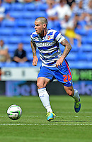 Reading's Danny Guthrie in action against Ipswich Town he scored Reading's winning goal<br /> <br /> FT: Reading 2 - 1 Ipswich Town<br /> <br />  - (Photo by David Horton/CameraSport) - <br /> <br /> Football - The Football League Sky Bet Championship - Reading v Ipswich Town - Saturday 3rd 2013 - Madejski Stadium - Reading<br /> <br /> © CameraSport - 43 Linden Ave. Countesthorpe. Leicester. England. LE8 5PG - Tel: +44 (0) 116 277 4147 - admin@camerasport.com - www.camerasport.com