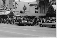 """1977 50th Anniversary re-premiere of Cecil B DeMille's 1927 movie """"King of Kings"""" at Mann's Chinese Theater"""