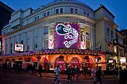 Londyn, 2009-10-23. Londyn nocą - West End