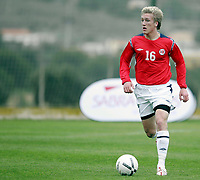 Fotball / Football<br /> International U 19 Team Tournament<br /> Norge v Skottland 1-2<br /> Norway v Scotland 1-2 at La Manga - Spain<br /> 08.02.2007<br /> Foto: Morten Olsen, Digitalsport<br /> <br /> Per Egil Flo - Sogndal / Norway