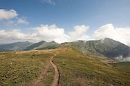 On the border ridge between Montenegro and Kosovo, near Qafa Bogićes © Rudolf Abraham