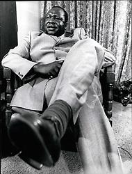 May 05, 1971 - Amin Uganda: Idi Amin Dada former President of Uganda. Credits: Camerapix (Credit Image: © Keystone Press Agency/Keystone USA via ZUMAPRESS.com)