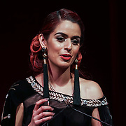 London, UK. 10th May 2017. Arts & Culture award to Jaspreet Sangha at The Asian Women of Achievement Awards 2017 at the London Hilton on Park Lane Hotel. Photo by See li Credit: See Li