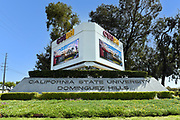 California State University Dominguez Hill Monument and Sign