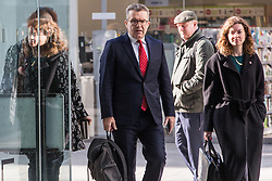 London, UK. 6 November, 2019. Tom Watson MP, Deputy Leader, arrives at Labour Party HQ for an NEC meeting to discuss important selection issues, including whether to lift Chris Williamson's suspension and whether Keith Vaz and Stephen Hepburn should be reinstated for the general election on December 12th.