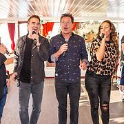 NLD/Amsterdam/20191030 - Persmoment Holland Zingt Hazes, deelnemers Danny de Munk, Jeroen van der Boom, Gerard Joling, Samantha Steenwijk