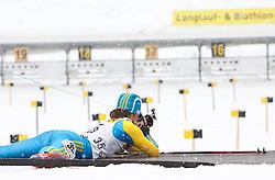11.12.2010, Biathlonzentrum, Obertilliach, AUT, Biathlon Austriacup, Sprint Lady, im Bild Julij Briginec (UKR, #35). EXPA Pictures © 2010, PhotoCredit: EXPA/ J. Groder