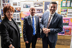 Pictured: Nora Senior (non-executive Chairof Scottish FGovernment Strategic Board for Enterprise and Skills), Damien Yeates - Chief Executive. Board Member and Chief Executive of Skills Development Scotland and Jamie Hepburn.<br />