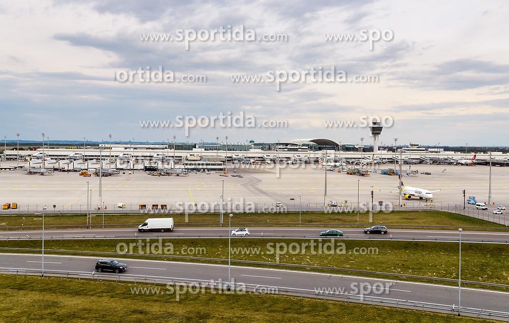 THEMENBILD - Uebersicht, aufgenommen am 13. April 2017, Flughafen München, Deutschland // Overview of the Munich Airport, Germany on 2017/04/13. EXPA Pictures © 2017, PhotoCredit: EXPA/ JFK