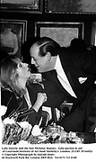 Lady Gowrie and the hon Nicholas Soames.  Gala auction in aid of Courtauld Institute of Art fund. Sotheby's. London. 23/3/87. 87164f22<br />
