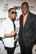 l to r: Chanj and Stephen Hill at The Urban Network Magazine and Alistair Entertainment V.I.P Reception honoring Stephen Hill & Charles Warfield & theCelebration of Urban Network's 21st Anniversary held at the Canal Room on May 13, 2009 in New York City .