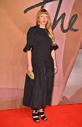 Molly Goddard attending The Fashion Awards 2016 at the Royal Albert Hall, London.