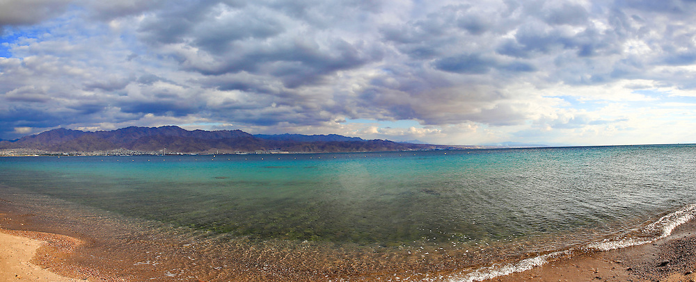The Red Sea. Photographed in Eilat, Israel