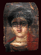 Encaustic greco egyptian coffin cover