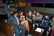 WAYNE GUSTAVE; BREAMA YEN, ; HANNAH SCOTT-THOMAS;  EMMANUEL BAIDOO; The Tatler Little Black Book party. Chinawhite club. London. 21 November 2009