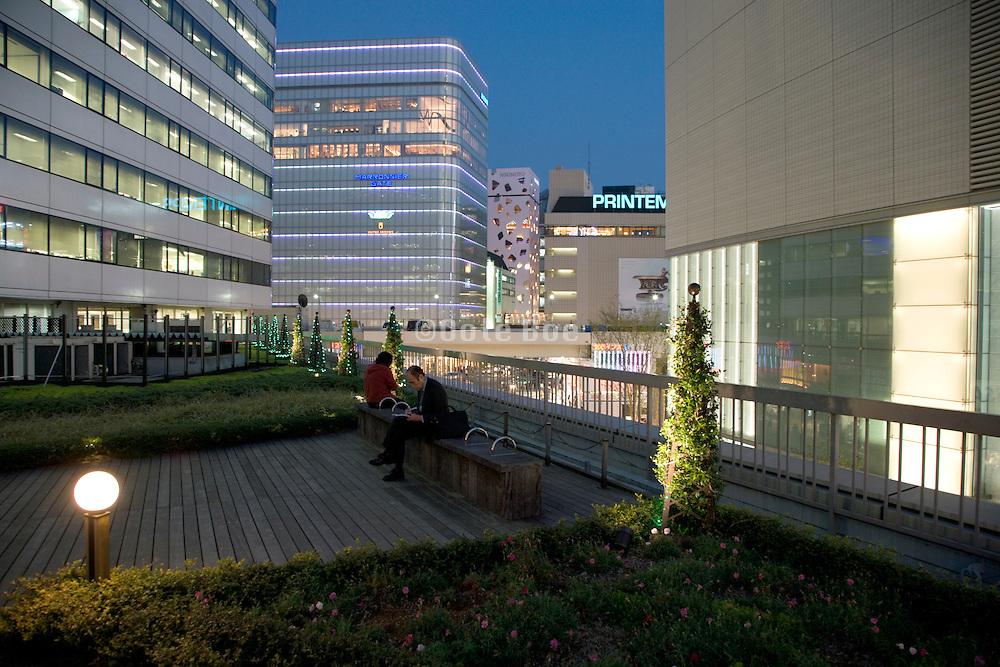 new architecture in Yurakucho district of Tokyo