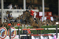 Wathelet Gregory, (BEL), Conrad de Hus<br /> Final<br /> Furusiyya FEI Nations Cup Jumping Final - Barcelona 2015<br /> © Dirk Caremans<br /> 26/09/15