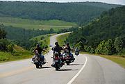 Kay and James Pratt rode to Kickstart Bed and Breakfast in Stigler, OK for Ride Oklahoma story