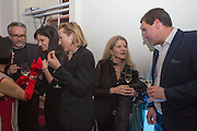 KATHY FRANCEY; HARRIET ROTH; MICHAEL LANGE, CANDLESTAR CELEBRATION at which Photo London 2015 was announced. , SOMERSET HOUSE., London, 16 December 2013