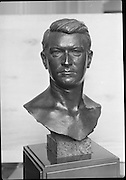 Bust of Michael Collins.<br /> 1970.<br /> 11.02.1970.<br /> 02.11.1970.<br /> 11th February 1970.<br /> Bust of Michael Collins