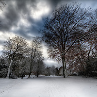 Crystal Palace Park in the Snow