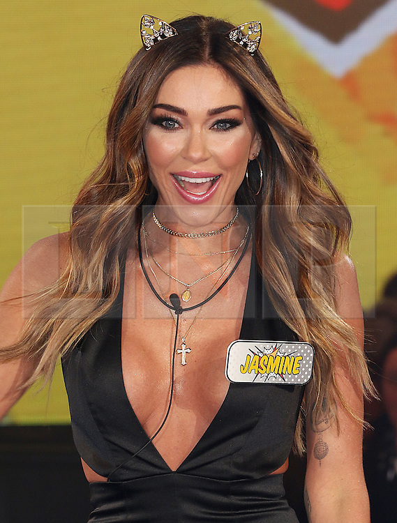 © Licensed to London News Pictures. 03/01/2017. London, UK, Jasmine Waltz, Celebrity Big Brother: WInter 2017 - Live Launch Show, Photo credit: Brett Cove/LNP