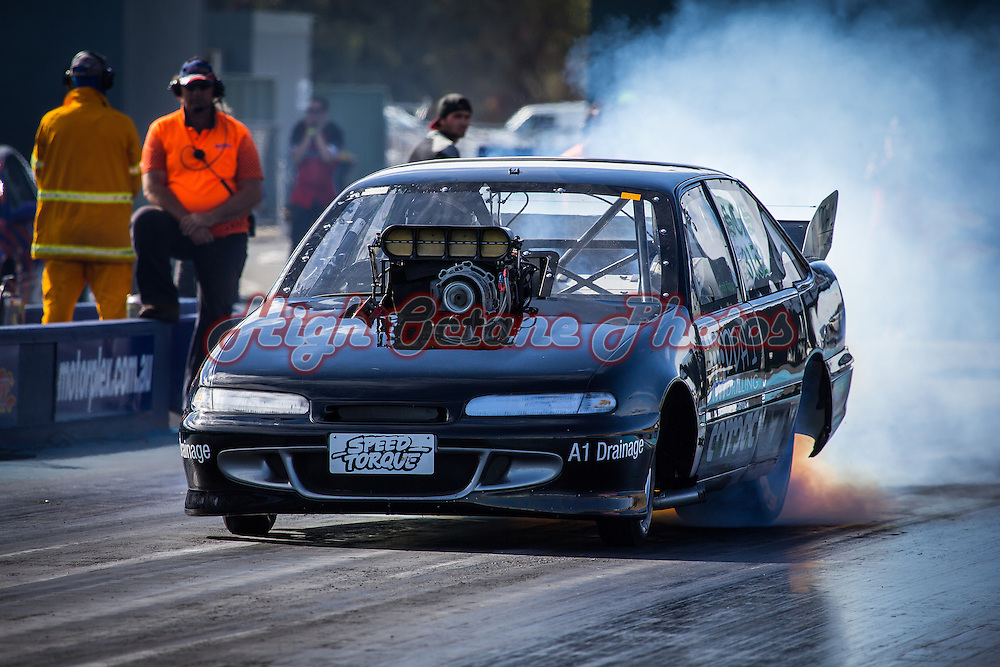 Frank Taylor (3152) - Holden Commodore - Supercharged Outlaws.