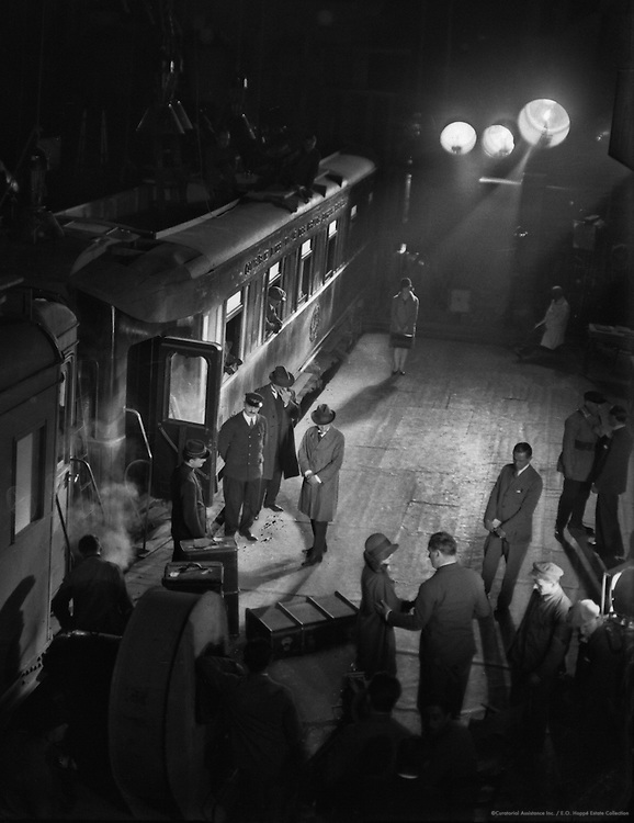 Working on a Scene, UFA Studios, Potsdam-Babelsberg, 1929