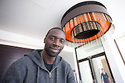 """Omar Sy  was at the photocall during the press day for the French comedy, """"Incompatibles""""  ( De l'autre cÙtÈ du pÈriph) at the Hotel Me, Madrid"""