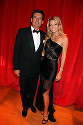 NICK BARHAM and KAREN CARWIN at a dinner held at the Natural History Museum to celebrate the re-opening of their store at 175-177 New Bond Street, London on 17th October 2007.<br /><br />NON EXCLUSIVE - WORLD RIGHTS