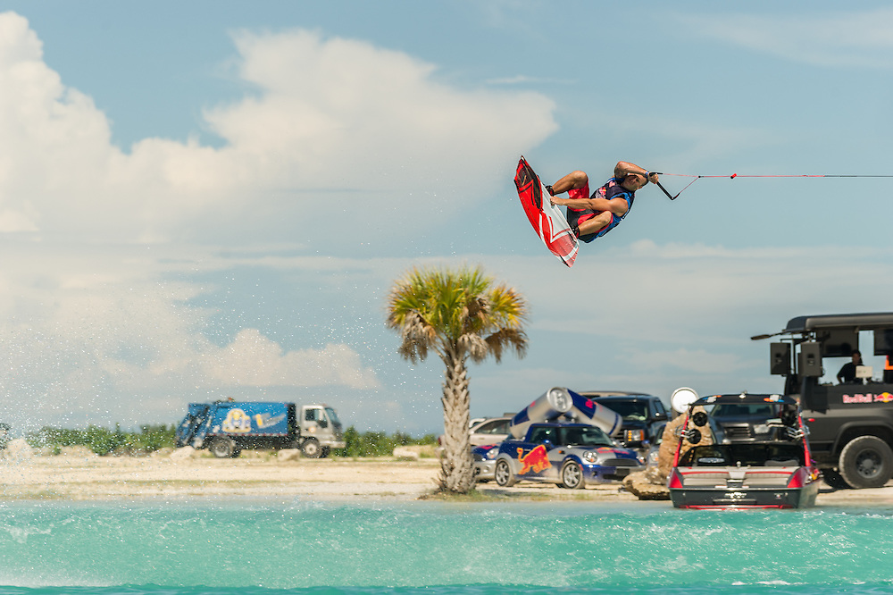 Shawn Watson performs at the Red Bull Wake Open in Tampa Bay, Florida, USA on July 7, 2012
