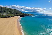 Waimea Bay, North Shore, Oahu, Hawaii, beach, deserted, covid