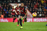 AFC Bournemouth Defender, Nathaniel Clyne (23) chases the ball during the Premier League match between Bournemouth and Chelsea at the Vitality Stadium, Bournemouth, England on 30 January 2019.
