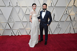 February 24, 2019 - Los Angeles, California, U.S - MARTA NIETO AND RODRIGO SOROGOYEN during red carpet arrivals for the 91st Academy Awards, presented by the Academy of Motion Picture Arts and Sciences (AMPAS), at the Dolby Theatre in Hollywood. (Credit Image: © Kevin Sullivan via ZUMA Wire)