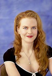 May 5, 2001 - Hollywood, California, U.S. - NICOLE KIDMAN promotes movie 'Moulin Rouge.' Nicole Mary Kidman, AC (born 20 June 1967 Honolulu, Hawaii, U.S.) is an Australian actress and film producer. Kidman's breakthrough roles were in the 1989 feature film thriller Dead Calm and television thriller miniseries Bangkok Hilton. Appearing in several films in the early 1990s, she came to worldwide recognition for her performances in the stock-car racing film Days of Thunder (1990), the romance-drama Far and Away (1992), and the hero film Batman Forever (1995). Other successful films followed in the late 1990s. Her performance in the musical Moulin Rouge! (2001) earned her a second Golden Globe Award for Best Actress Motion Picture Comedy or Musical and her first nomination for the Academy Award for Best Actress. Kidman's performance as Virginia Woolf in the drama film The Hours (2002) received critical acclaim and earned her the Academy Award for Best Actress, the BAFTA Award for Best Actress in a Leading Role, the Golden Globe Award for Best Actress in a Motion Picture – Drama and the Silver Bear for Best Actress at the Berlin International Film Festival. Upcoming releases: The Killing of a Sacred Deer (2017), The Beguiled (2017), Big Little Lies (TV Series 2017), How to Talk to Girls at Parties 2017), Top of the Lake (TV Series 2017), Lion (2016). (Credit Image: © Armando Gallo via ZUMA Studio)