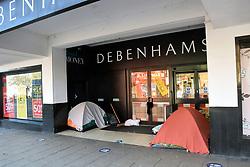 Homelessness, Norwich UK January 2021
