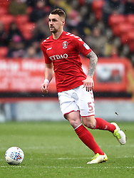 Charlton Athletic's Patrick Bauer