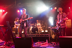 Wolf Gang, plays in the Rock n Roll tent, Rockness, Saturday, 11th June 2011..RockNess 2011, the annual music festival which takes place in Scotland at Clune Farm, Dores, on the banks of Loch Ness near Inverness..Pic ©2011 Michael Schofield. All Rights Reserved..