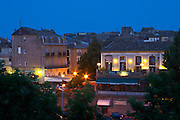 The La Galeote hotel. Agde town. Languedoc. France. Europe.
