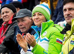 Maja Makovec Brencic, Minister for Sport, Science and Education of Slovenia  during the 2nd Run of 10th Men's Slalom race of FIS Alpine Ski World Cup 55th Vitranc Cup 2016, on March 6, 2016 in Podkoren, Kranjska Gora, Slovenia. Photo by Vid Ponikvar / Sportida